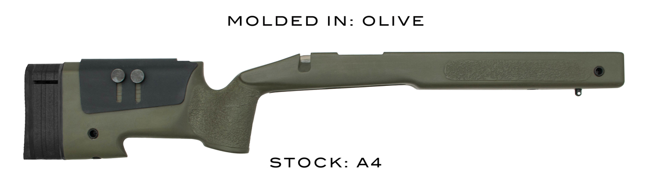 A4 - MOLDED IN  - OLIVE